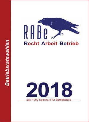 RABe Seminare - Seminarplan 2018